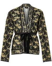 Isabel Marant Oma Quilted Silkshantung Jacket - Lyst