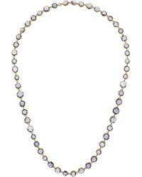 Munnu - 22-Karat Gold Iolite Necklace - Lyst
