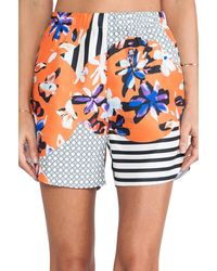 Clover Canyon Floral Discs Short - Lyst