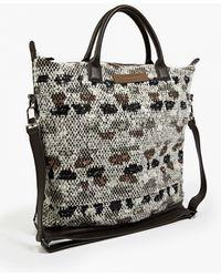 Want Les Essentiels De La Vie | Jacquard Textured 'o'hare'tote Bag | Lyst