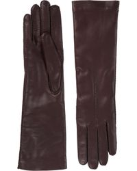 Barneys New York Cashmerelined Long Gloves - Lyst