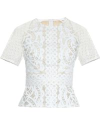 Lover - Poppy Japanese-lace Top - Lyst