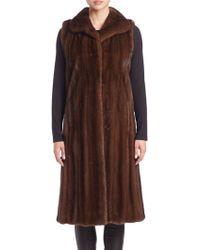 Bibhu Mohapatra | Long Mink Fur Vest | Lyst