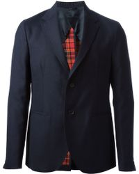 Raf Simons Deconstructed Two Button Blazer - Lyst
