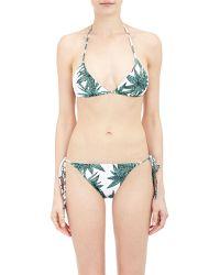 Mara Hoffman Sliding String Bikini Top - Lyst