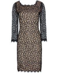 Diane Von Furstenberg Zarita Long Embellished Lace Dress - Lyst
