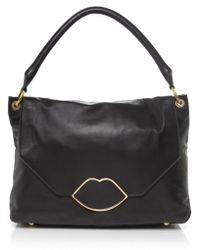 Lulu Guinness Medium Nicole Tote Bag - Lyst