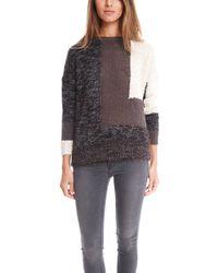 By Malene Birger Embilla Colorblock Sweater - Lyst