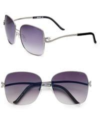 Just Cavalli Square Aviator Sunglasses - Lyst