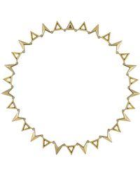 Luv Aj Saber Bib Necklace - Lyst