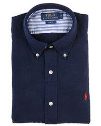 Ralph Lauren Blue Label Blue Slim Fit Shirt blue - Lyst