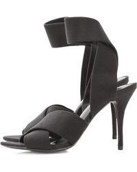 Alexander Wang Dana Ankle Strap Heels - Lyst