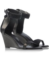 Surface To Air Sandals black - Lyst