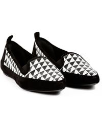 Proenza Schouler Black Slippers - Lyst
