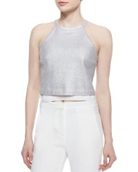 A.L.C. Daisy Layered Mettweed Top - Lyst