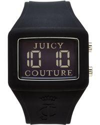 Juicy Couture Black Digital Watch - Lyst