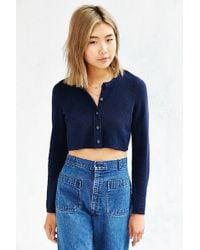 Kimchi Blue - Teeny Shrug Cardigan - Lyst