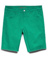 Forever 21 - Frayed Denim Shorts - Lyst