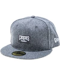Crooks and Castles - The Core Logo Fitted Hat - Lyst