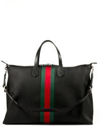 Gucci Black Travel Sac - Lyst