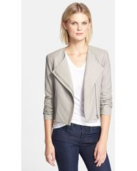 VEDA 'Dali' Leather Jacket - Lyst