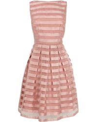 Coast Liv Stripe Dress. - Lyst