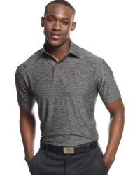 Under Armour Elevated Heather Performance Golf Polo - Lyst