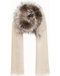 Fendi - Touch Of Fur Stole Touch Of Fur Stole - Lyst