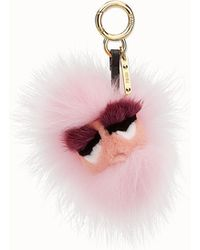 Fendi - Mini Eye Key Charm - Lyst