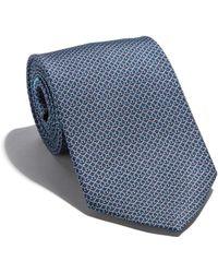Ferragamo - Gancini Chain Printed Tie - Lyst