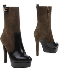 John Galliano Ankle Boots - Lyst