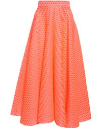 Roksanda Bubble Wrap Jacquard Skirt - Lyst