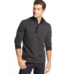Hugo Boss Boss Piceno 43 Quarter-zip Button Sweater - Lyst