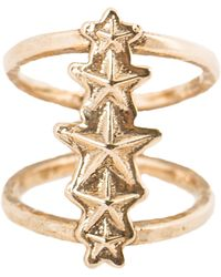 Pamela Love Ursa Minor Ring In Antique Gold gold - Lyst