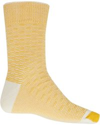 Anonymous Ism - Yellow Waffle Socks - Lyst
