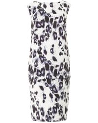 Camilla & Marc Primary Key Leopard-Print Dress animal - Lyst