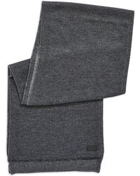 John Varvatos Wool and Cashmere Knit Scarf - Lyst