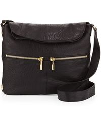 Elizabeth And James James Large Grain Crossbody Bag - Lyst