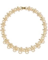 Giles & Brother - Gold-plated Necklace - Lyst