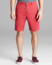 Elie Tahari | Marco Dyed Cotton Twill Shorts | Lyst