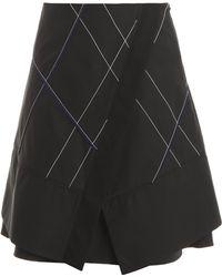 Proenza Schouler Poplin Skirt - Lyst