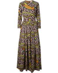 Stella Jean Multicolor Printed Dress - Lyst