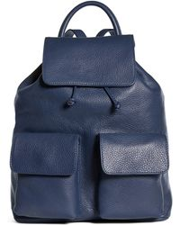 Brooks Brothers | Leather Backpack | Lyst