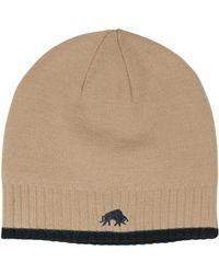 Raging Bull | Rb Wool Hat Oatmeal | Lyst