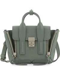 3.1 Phillip Lim Pashli Mini Leather Satchel Bag - Lyst