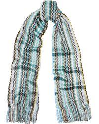 Missoni Crochet-Knit Scarf - Lyst