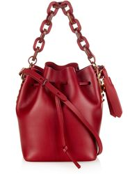 Sophie Hulme - Nelson Small Leather Cross-body Bucket Bag - Lyst