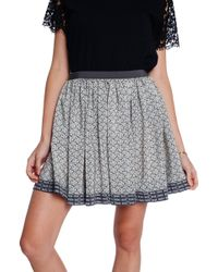 Sea Circle Skirt - Lyst
