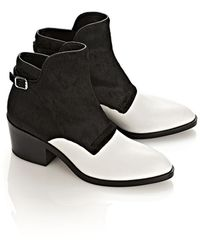 Alexander Wang Cara Ankle Boot - Lyst