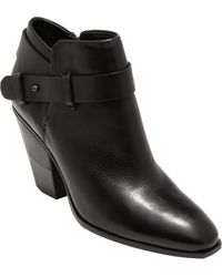 Dolce Vita Hilary Leather Ankle Boots - Lyst